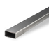 Stainless Construction Pipe/Tube Rectangular 304 HF Welded Dull Polished Grit 240