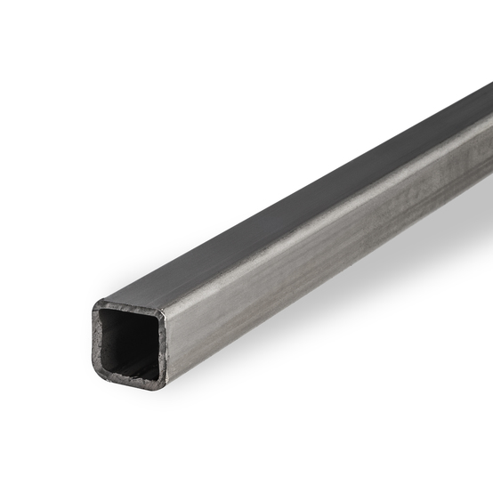 Stainless Construction Pipe/Tube Square 1.4016 HF Welded Dull Polished Grit 240